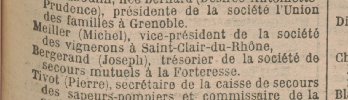Société des Vignerons de St Clair